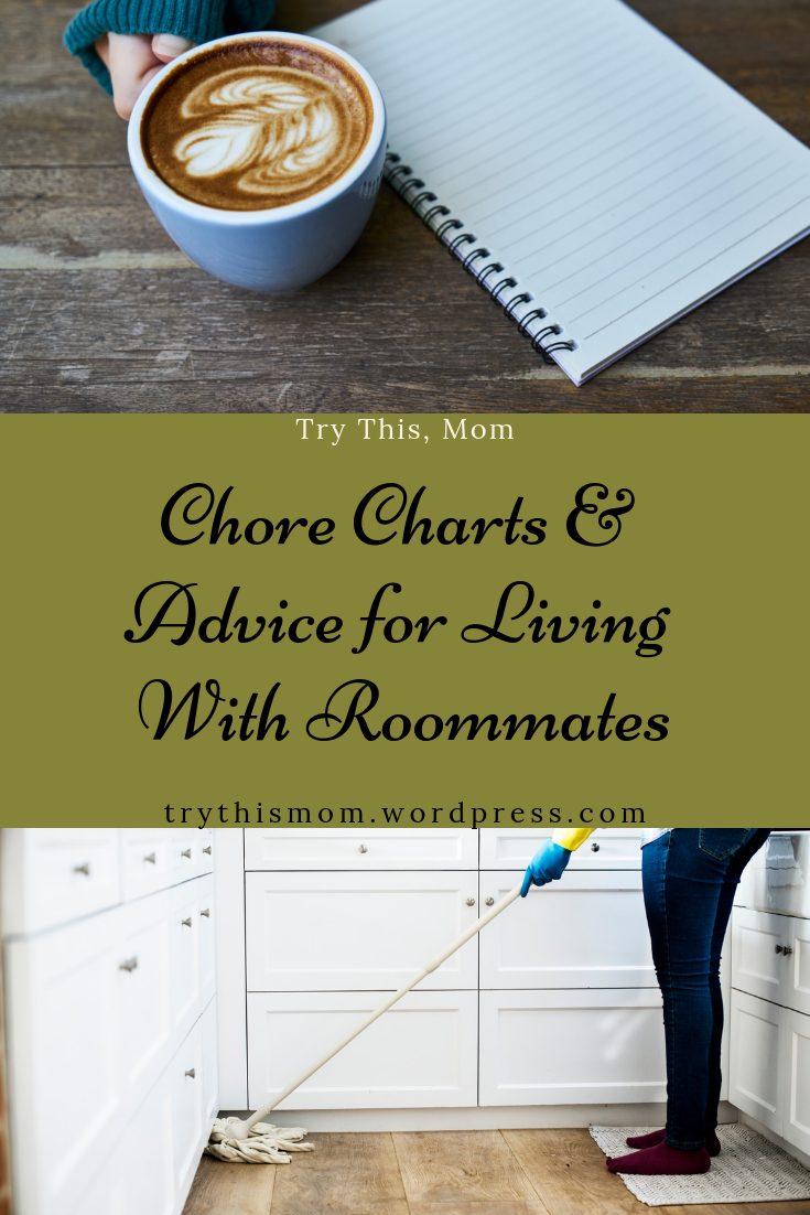 chore charts for living with adults